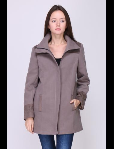 Pack 8x Manteau femme Laura couleur Taupe