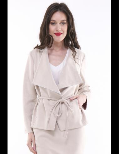 Pack 8x vestes femme YOSUEDO beige