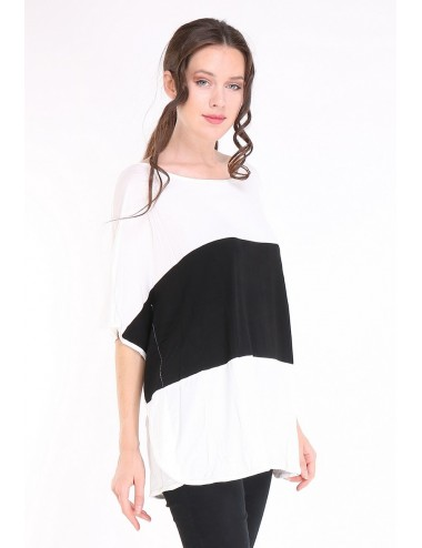copy of Tee-shirt PONCHO GRANDE TAILLE femme APAULA gris