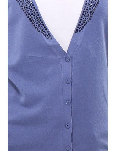 Pack 4x Gilet manches longues Mapilex bleu