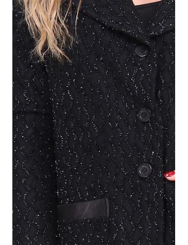 Manteau LACHANEL noir