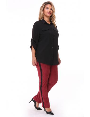 Pantalon NASUEDY Bordeaux