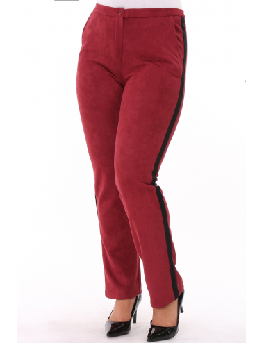 Pantalon NASUEDY Bordeaux