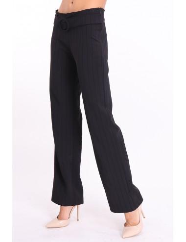 Pantalon femme NONATEX taille haute ceinturée.